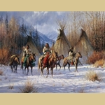 Hunters Morning by Martin Grelle