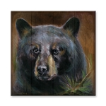 Bear 2 on Wood