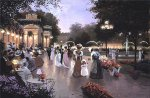 A Stroll by Moonlight by Christa Kieffer